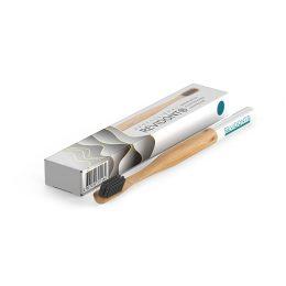 Revidont зубная щетка (синяя) из бамбука