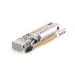 Revidont зубная щетка (красная) из бамбука